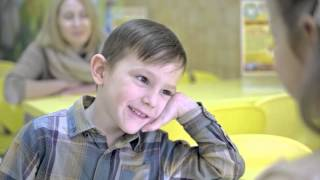 Клип с участием самых маленьких воспитанников студии, на песню Максима Леонидова