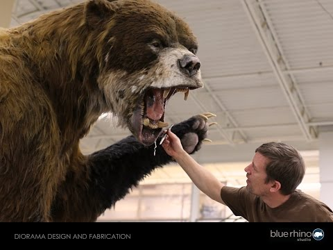 Museum Diorama Design and Fabrication with Tim Quady, President at Blue Rhino Studio