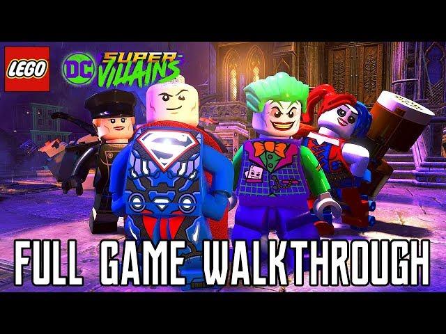 LEGO DC Super Villains FULL GAME Walkthrough (PS4 Pro) No Commentary @ 1080p HD ?