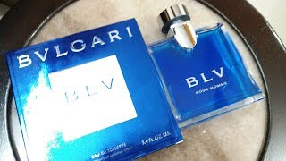 Bvlgari BLV Pour Homme Fragrance (First Review)(2001)