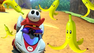 BANANAS ONLY!! THIS THAT BULL BULL! [MARIO KART 8]