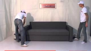 Демонстрация дивана Липки. Как выбрать модный качественный диван.(Обзор дивана. Метод раскладки и ключевые особенности дивана-еврокнижки