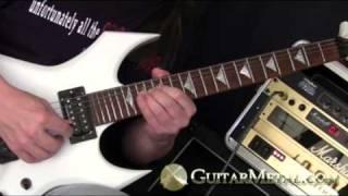Portrait of Evil Heavy Metal Guitar Solo