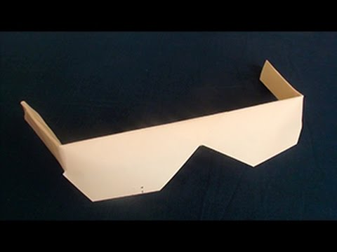 How to make Origami Sunglasses | Paper Arts and Crafts Videos For Kids
