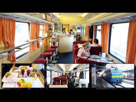 TRAIN EXPERIENCE   Bratislava to Poprad Tatry   ZSSK INTERCITY Bratislava-Košice