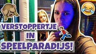 VERSTOPPERTJE SPELEN IN EEN SPEELPARADIJS !! 💜🌠 - Broer en Zus TV VLOG #279