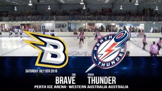 AIHL 2016 - Week 12: CBR Brave @ Perth Thunder