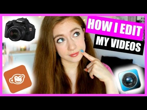 How I Edit My YouTube Videos | Overlays, Text, Outro Cards, Effects, + More! YouTube 101