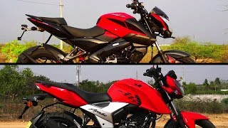 Pulsar 160 NS ABS vs RTR 160 4V ABS Which is Better? #Bikes@Dinos