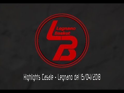 Highlights Casale-Legnano del 15/04/2018