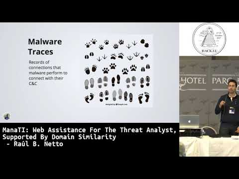Hack.lu 2017 ManaTI: Web Assistance for the Threat Analyst, supported by Domain Similarity
