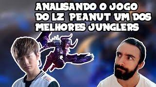 Analisando o jogo do LZ Peanut um dos melhores junglers no League of Legends