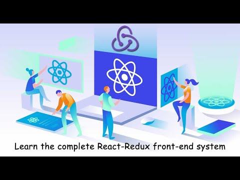 Learn the complete React-Redux front-end system thumbnail