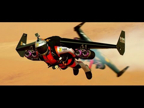 This Video Of Two Flying Men Over Dubai Will Make You Believe In - Crazy video of two guys flying jetpacks over dubai