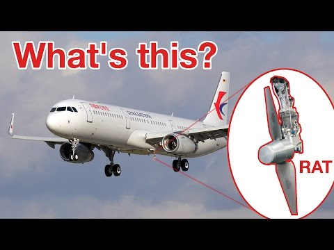 "What´s a RAT? RAM AIR TURBINE! Explained by ""CAPTAIN"" Joe"