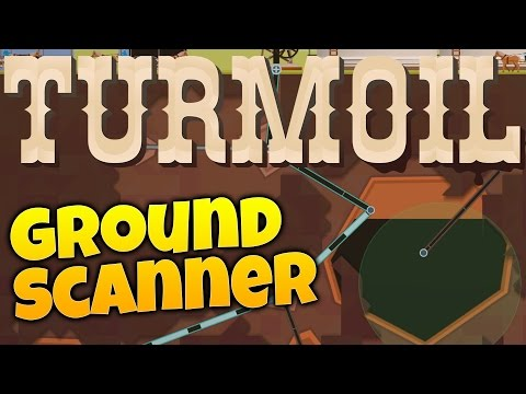 Turmoil Gameplay - Oil Spilling & Ground Scanning! (Let's Pl