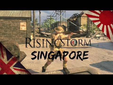 Rising Storm Singapore: The British forces part 2