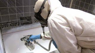 Как делается эмалировка ванн? Покраска ванны