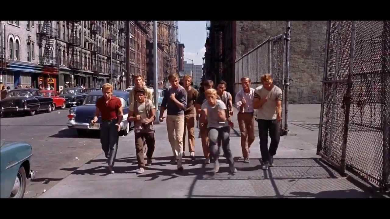 West Side Story Jet Song 1961 Hd Youtube