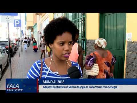 QUALIFICAÇÃO MUNDIAL 2018: CABO VERDE X SENEGAL