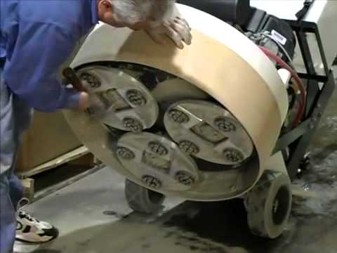Aztec Products: Ultragrind Demo - for your concrete floor grinding and polishing needs