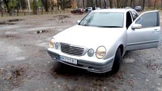 Mercedes W210 штатная сигнализация(standard alarm system)