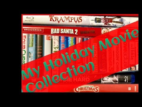 My Holiday Movie Collection 2017