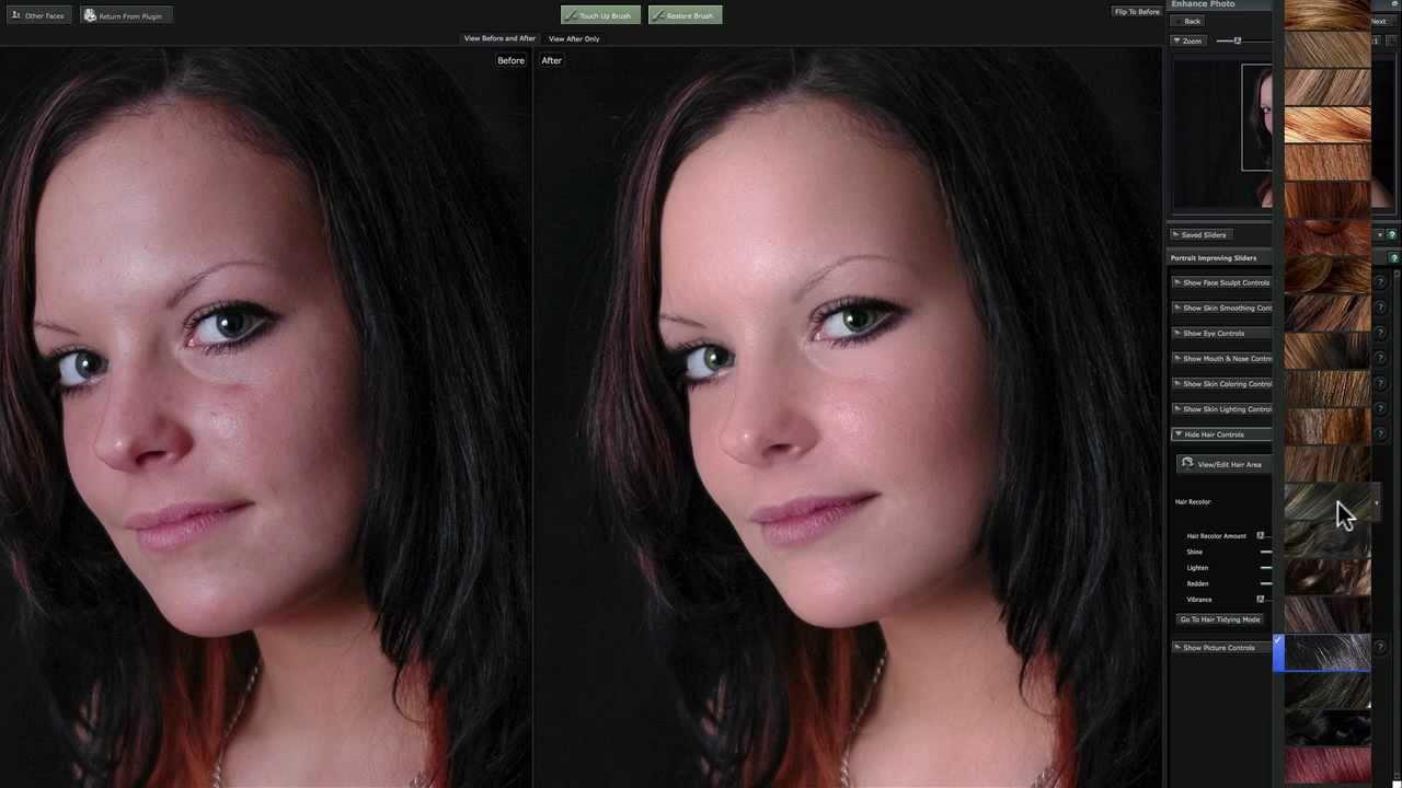 Portrait Professional Professionelle Bildbearbeitung Für Fotografen