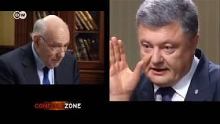 Порошенко: почему вы бомбите ДНР?