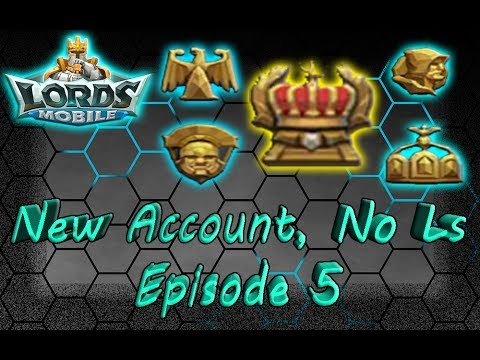 Lords Mobile Live Stream: New Account, No Ls - Episode 5 | HOW ITS LIKE AS OVERLORD!!