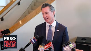 WATCH LIVE: California governor holds news conference