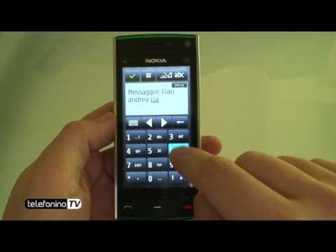 Nokia X6 videoreview da Telefonino.net