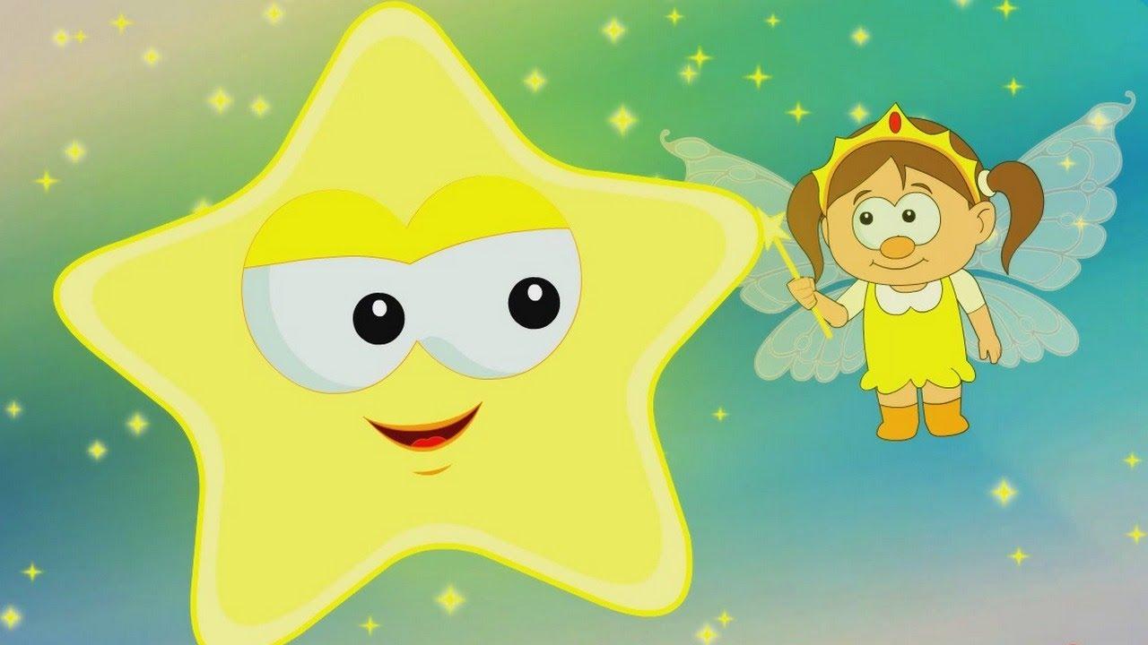 Star Light Star Bright >> Star Light Star Bright Nursery Rhyme Hooplakidz Tv Youtube