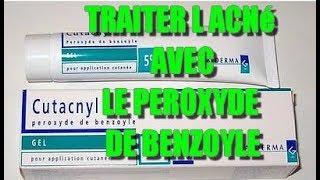 le PEROXYDE DE BENZOYLE pour traiter l'acné