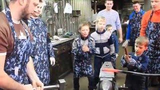 видео ковка в Тюмени