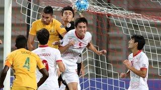 Australia vs Tajikstan (AFC U-19 Championship 2016: Group Stage)