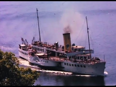 Cruising around Loch Lomond, the Trossachs and the Clyde in the 1960's