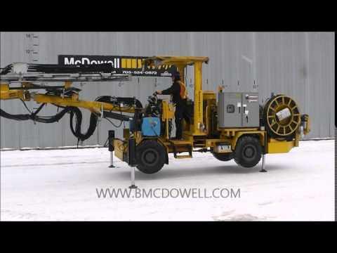 McDowell Equipment - Atlas Copco 281 Underground Rocket Boomer Jumbo Drill