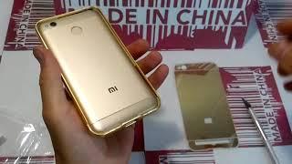 видео Чехлы для Xiaomi Redmi 5A