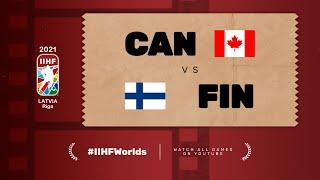 Highlights: CANADA vs FINLAND | 2021 #IIHFWorlds