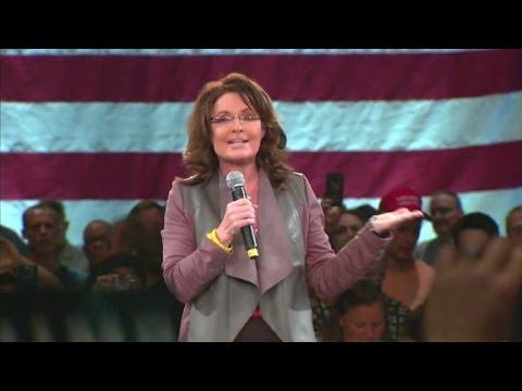 Sarah Palin talks husband's crash and 'punk-ass...