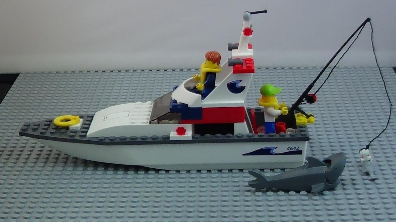 How to time lapse build lego city fishing boat 4642 youtube for Build fishing boat