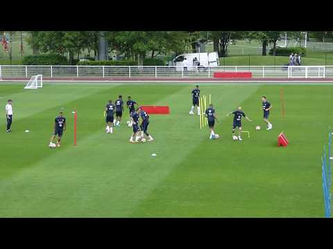 Alexandre Lacazette ● Benjamin Mendy ● Djibril Sidibé ● Training French team ● Clairefontaine