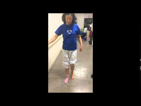 AIDER Drop Foot Brace test