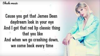 Taylor Swift - Style (Lyrics)