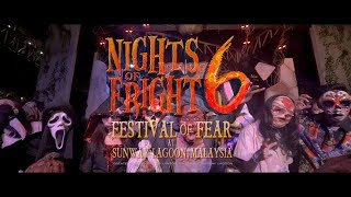 Official Nights Of Fright 6 Promotional Video, Sunway Lagoon