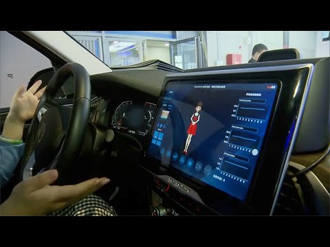 China's car industry goes high tech in Shanghai Auto Show 2021