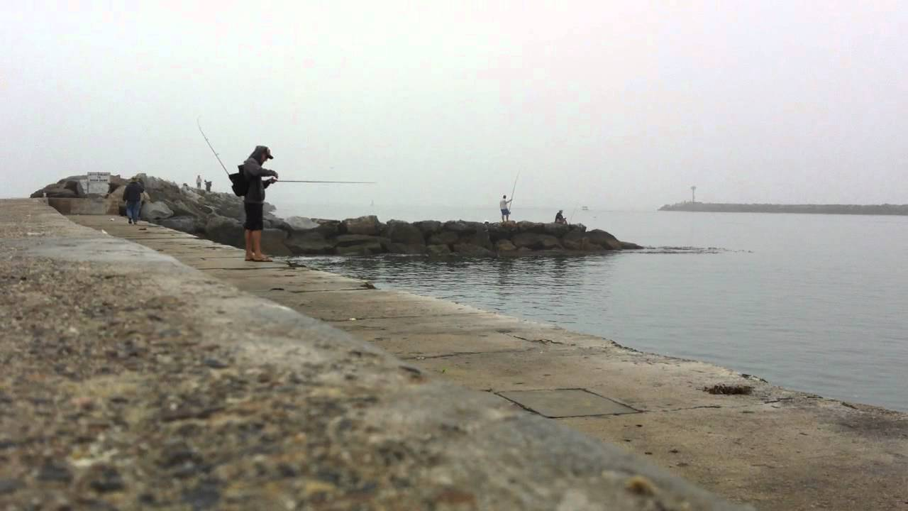 Fishing in corona del mar california youtube for California out of state fishing license