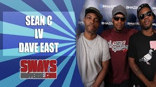 Repeat youtube video Sean C & LV On Linking Up W/ Dave East & East Freestyles Over Their Exclusive Beats