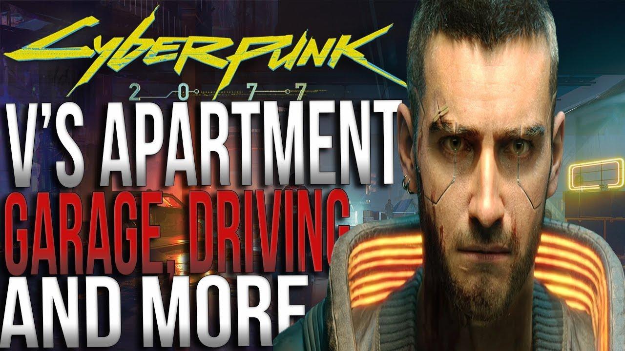 Cyberpunk 2077 - V's Apartment, Garage & More! thumbnail